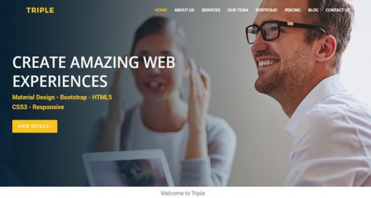 Triple - Multipurpose HTML5 Template