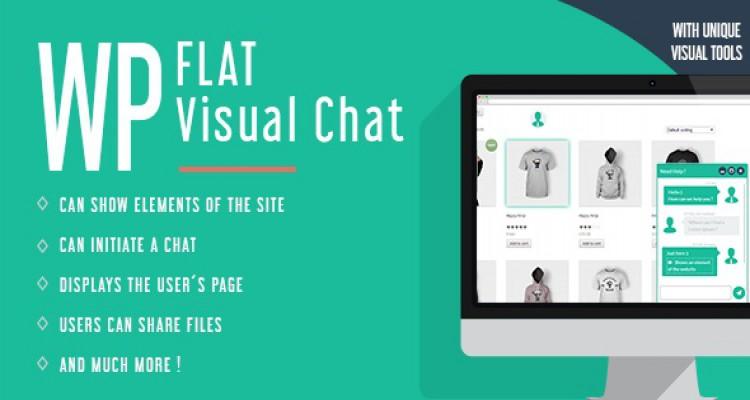 WP Flat Visual Chat v5.370