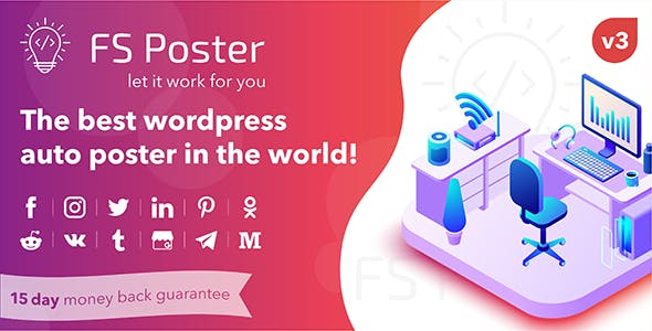 FS Poster v3.2.5 - WordPress auto poster & scheduler