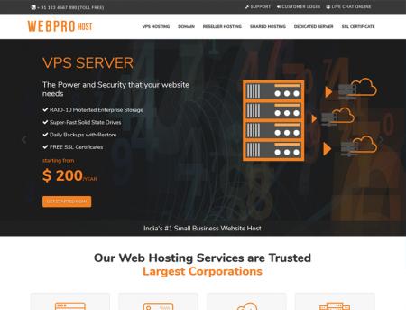 Web Pro Host WHMCS and HTML Theme