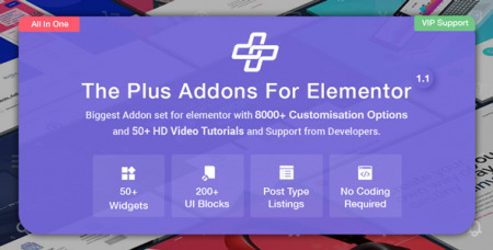 The Plus v1.2.0 - Addon for Elementor