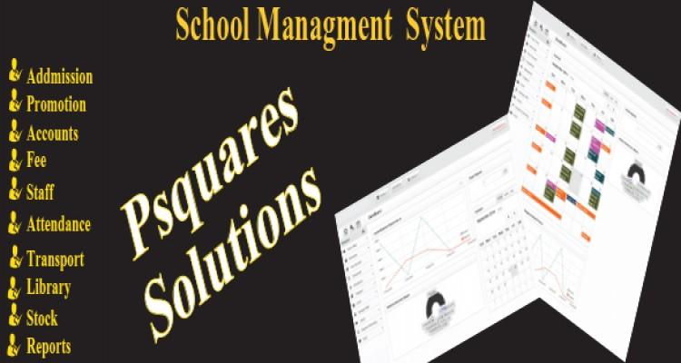 Psquares school management system
