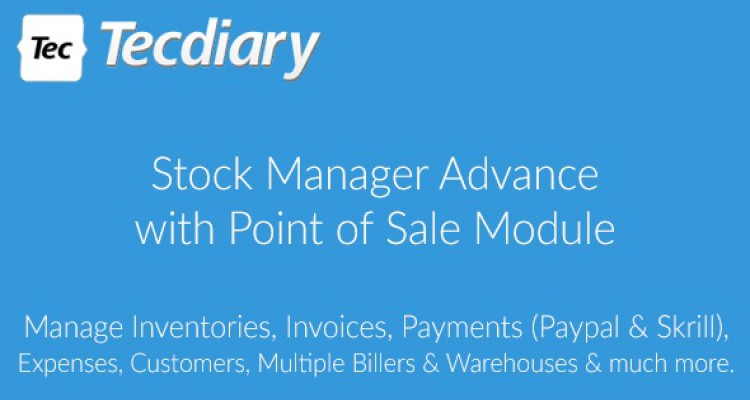 Stock Manager Advance with Point of Sale Module v3.2.2
