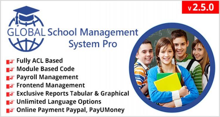 Global School Management System Pro v2.5.0