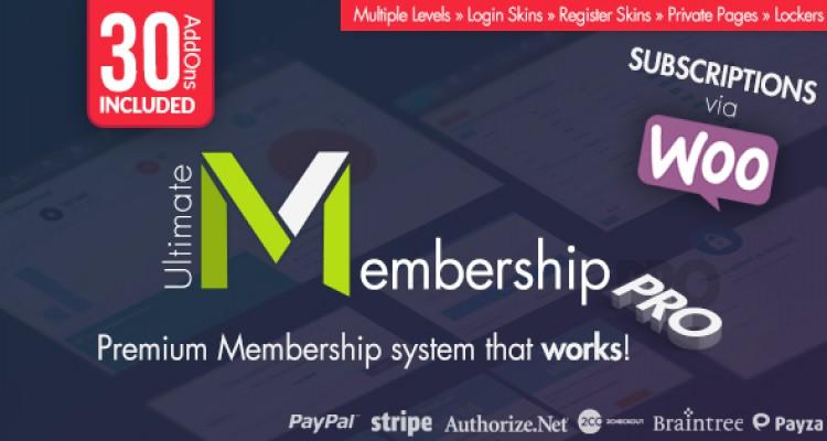 Ultimate Membership Pro WordPress Plugin v6.9