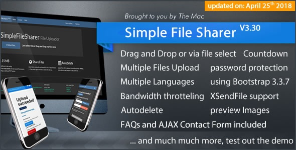 Simple File Sharer v3.30