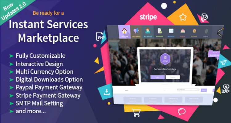 Gigs v2.0 - Services Marketplace